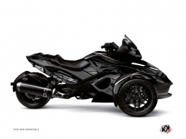 Graphic Kit Replica Can Am Spyder RS Black Grey
