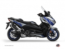 Graphic Kit Maxiscooter Replica Yamaha TMAX 530 Blue Grey