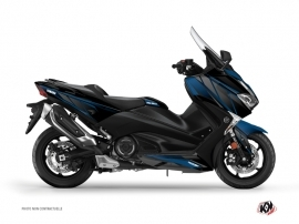 Graphic Kit Maxiscooter Replica Yamaha TMAX 530 Blue Black