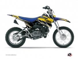 Graphic Kit Dirt Bike Replica Yamaha TTR 110 Yellow