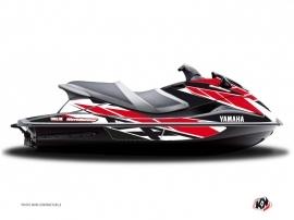 Graphic Kit Jet Ski Replica Yamaha VXR-VXS Red