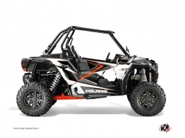 Graphic Kit UTV Rock Polaris RZR 1000 Grey Orange
