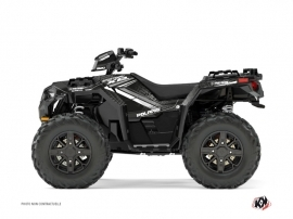 Graphic Kit ATV Rock Polaris 1000 Sportsman XP Forest Grey