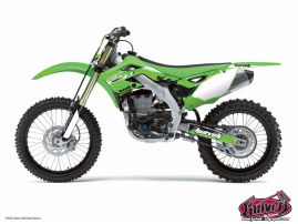 Kawasaki 450 KXF Dirt Bike SLIDER Graphic kit