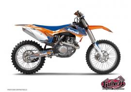 KTM 85 SX Dirt Bike SLIDER Graphic kit Blue