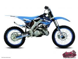 TM MX 250 Dirt Bike Slider Graphic Kit