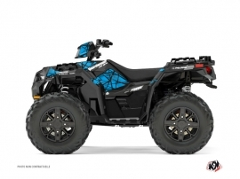 Graphic Kit ATV Spin Polaris 1000 Sportsman XP Forest Blue