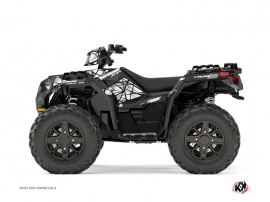 Graphic Kit ATV Spin Polaris 1000 Sportsman XP Forest Grey