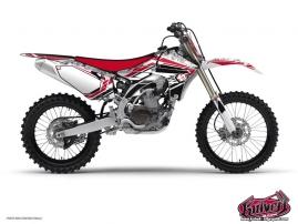 Yamaha 125 YZ Dirt Bike SPIRIT Graphic kit Red