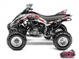 Graphic Kit ATV Spirit Yamaha 350 Raptor Red