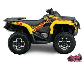 Can Am Outlander 1000 ATV SPIRIT Graphic kit