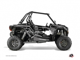 Graphic Kit UTV Squad Polaris RZR 1000 Black Grey