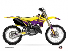 Graphic Kit Dirt Bike Stage Suzuki 125 RM Yellow Purple