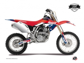 Graphic Kit Dirt Bike Stage Honda 125 CR Blue Red LIGHT