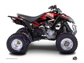 Kymco 250-300 MAXXER ATV Stage Graphic Kit Red Black