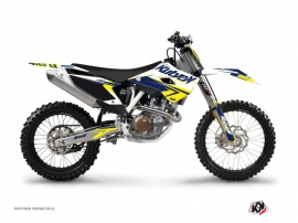 Graphic Kit Dirt Bike Stage Husqvarna TC 250 White Yellow