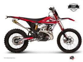 Graphic Kit Dirt Bike Stage Gasgas 250 EC F Red LIGHT