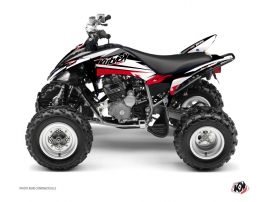 Yamaha 250 Raptor ATV STAGE Graphic kit Black Red