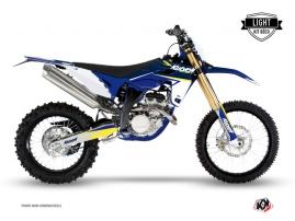 Sherco 250 SE R Dirt Bike STAGE Graphic kit White Yellow LIGHT