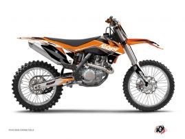 KTM 250 SX Dirt Bike STAGE Graphic kit Orange