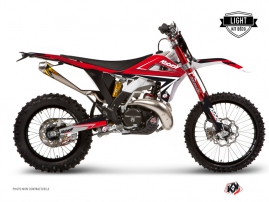 Graphic Kit Dirt Bike Stage Gasgas 300 EC F Red LIGHT