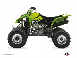 Kawasaki 400 KFX ATV STAGE Graphic kit Green