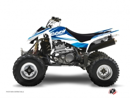 Suzuki 400 LTZ ATV STAGE Graphic kit Blue