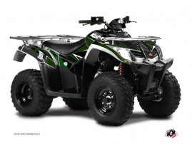 Graphic Kit ATV Stage Kymco 400 MXU Black Green