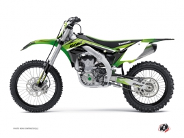 Kawasaki 450 KXF Dirt Bike STAGE Graphic kit Green