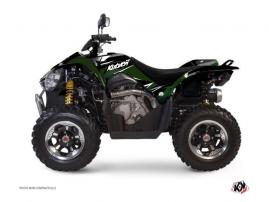 Graphic Kit ATV Stage Kymco 450 MAXXER Black Green