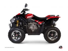 Graphic Kit ATV Stage Kymco 450 MAXXER Red Black