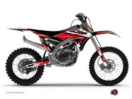 Graphic Kit Dirt Bike Stage Yamaha 450 YZF Black Red