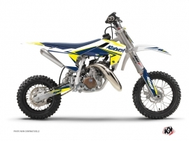 Graphic Kit Dirt Bike Stage Husqvarna TC 50 White Yellow