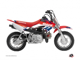 Graphic Kit Dirt Bike Stage Honda 50 CRF Blue Red