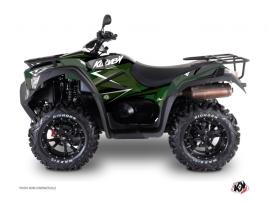 Kymco 550-700 MXU ATV Stage Graphic Kit Black Green