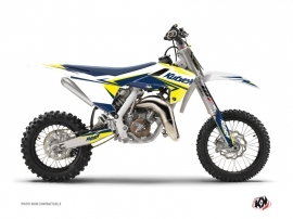 Graphic Kit Dirt Bike Stage Husqvarna TC 65 White Yellow