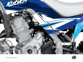 Graphic Kit Frame protection ATV Stage Yamaha 700 Raptor 2013-2016 Blue