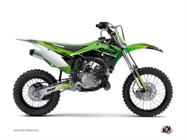 Kawasaki 85 KX Dirt Bike STAGE Graphic kit Green