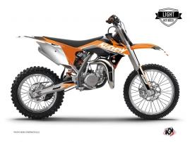 KTM 85 SX Dirt Bike STAGE Graphic kit Orange LIGHT