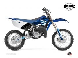 Yamaha 85 YZ Dirt Bike STAGE Graphic kit Blue LIGHT