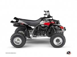 Yamaha Banshee ATV STAGE Graphic kit Black Red