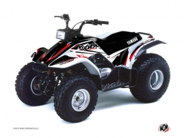 Graphic Kit ATV Stage Yamaha Breeze Black Red