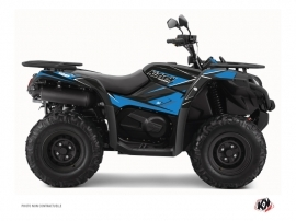 Graphic Kit ATV Stage CF Moto CFORCE 520 S Blue Black