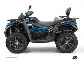 Graphic Kit ATV Stage CF Moto CFORCE 800 S Blue Black