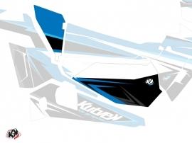 Graphic Kit Doors Low Dragonfire Stage UTV Polaris RZR 900S/1000/Turbo 2015-2017 Blue