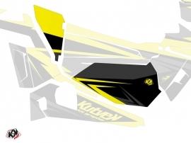 Graphic Kit Doors Low Dragonfire Stage UTV Polaris RZR 900S/1000/Turbo 2015-2017 Black Yellow