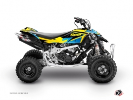 Graphic Kit ATV Stage Can Am DS 450 Yellow Blue