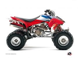 Graphic Kit ATV Stage Honda EX 400 Blue Red