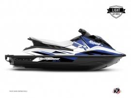 Graphic Kit Jet-Ski Stage Yamaha EX White Blue LIGHT