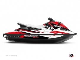 Graphic Kit Jet-Ski Stage Yamaha EX White Red